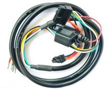 Power Harness with External Battery Connector (43025-4P)