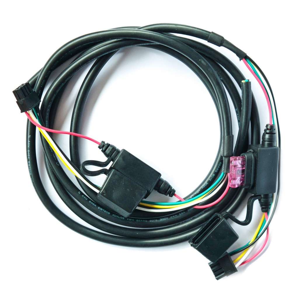 Power Harness with 3 AMP Fuse (43025)