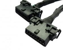 OBDII Y Splitter Harness 12 Inch Version (43026-12-12)