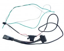 OBDII W14 Pin Connector, 2 Wires Harness  (43030-14P-2C)