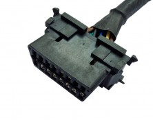 OBDII Wbattery Connector Harness (43030-14P-4P)